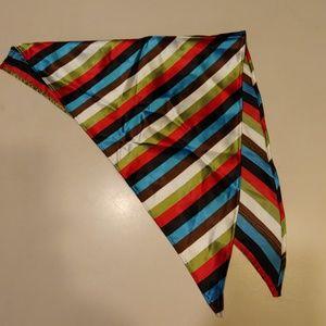 Accessories - Cool Striped Kerchief, Head Wrap